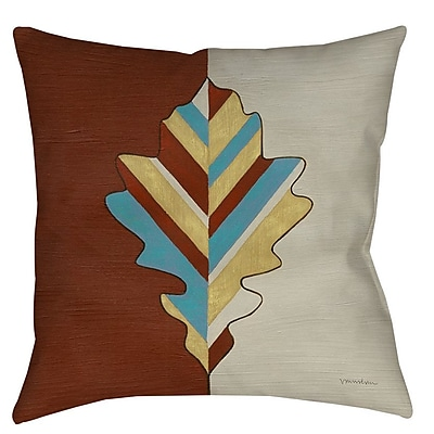 Manual Woodworkers & Weavers Apache Leaf 4 Indoor/Outdoor Throw Pillow; 20'' H x 20'' W x 5'' D