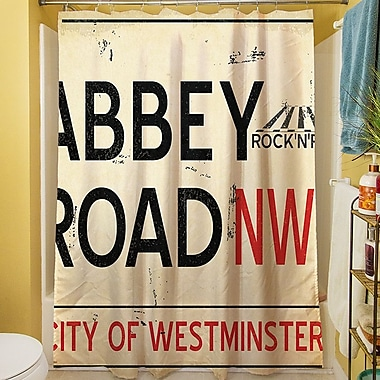 Manual Woodworkers & Weavers Abbey Road Shower Curtain