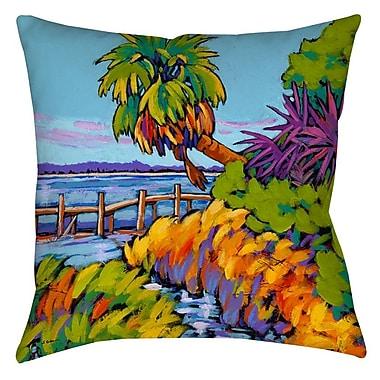 Manual Woodworkers & Weavers Cloud Nine Marsh Printed Throw Pillow; 14'' H x 14'' W x 3'' D