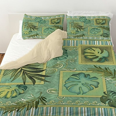 Manual Woodworkers & Weavers Tropic of Cancer Duvet Cover; Twin