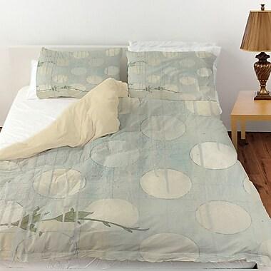 Manual Woodworkers & Weavers Summer Vine 3 Duvet Cover; Queen