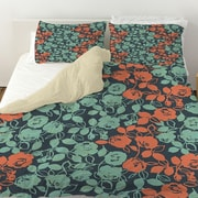 Manual Woodworkers & Weavers Anna Rose 5 Duvet Cover; King
