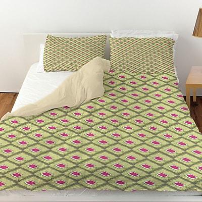 Manual Woodworkers & Weavers Butterfly Diamond Duvet Cover; Twin