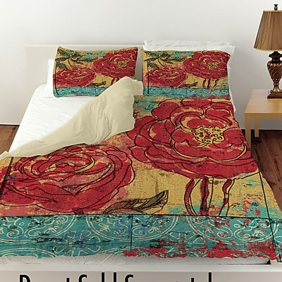Manual Woodworkers & Weavers Valencia 3 Duvet Cover; King