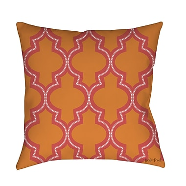 Manual Woodworkers & Weavers Ogee Dots Printed Throw Pillow; 26'' H x 26'' W x 7'' D