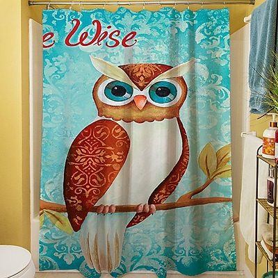 Manual Woodworkers & Weavers Be wise Shower Curtain WYF078276876855