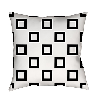 Manual Woodworkers & Weavers Band Printed Throw Pillow; 26'' H x 26'' W x 7'' D