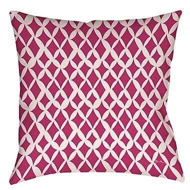 Manual Woodworkers & Weavers Banias Diamond Printed Throw Pillow; 26'' H x 26'' W x 7'' D
