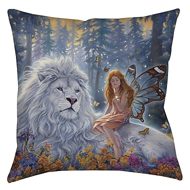 Manual Woodworkers & Weavers Star Birth Indoor/Outdoor Throw Pillow; 16'' H x 16'' W x 4'' D