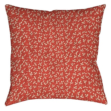 Manual Woodworkers & Weavers Dream Big Ditsy Florals Printed Throw Pillow; 26'' H x 26'' W x 7'' D
