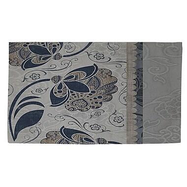 Manual Woodworkers & Weavers Elegante 5 Gray Area Rug; 4' x 6'