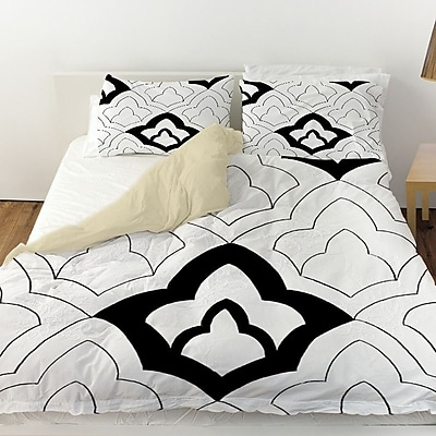 Manual Woodworkers & Weavers Divisible 1 Duvet Cover; Queen