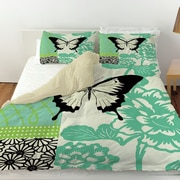 Manual Woodworkers & Weavers Butterfly Journey 1 Duvet Cover; Twin