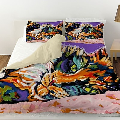 Manual Woodworkers & Weavers Calico Dreams Duvet Cover; Twin