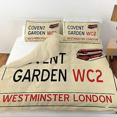 Manual Woodworkers & Weavers Covent Garden Duvet Cover; King