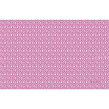 Manual Woodworkers & Weavers Woven Purple Area Rug; 3'1'' x 1'10.5''