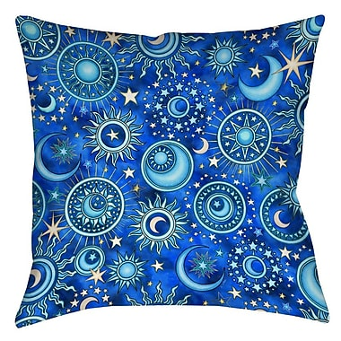 Manual Woodworkers & Weavers Celestial Medallions Printed Throw Pillow; 16'' H x 16'' W x 4'' D
