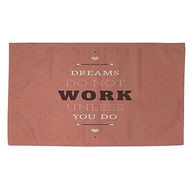 Manual Woodworkers & Weavers Dreams Take Work Area Rug; 4' x 6'