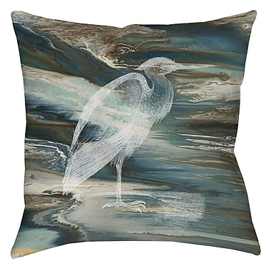 Manual Woodworkers & Weavers Cruising Printed Throw Pillow; 14'' H x 14'' W x 3'' D