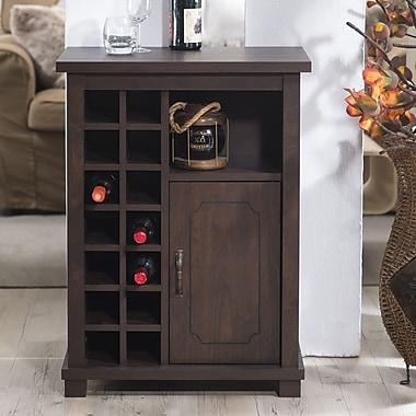 Hokku Designs Dionetta 14 Bottle Wine Bar