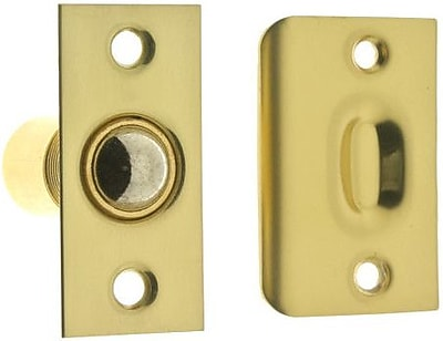 idh by St. Simons Solid Brass Wide Square Roller Ball Catch