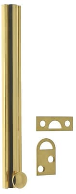 idh by St. Simons Solid Brass Surface Bolt