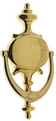 idh by St. Simons Solid Brass Claremont Knocker