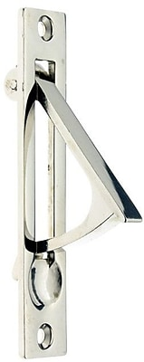 idh by St. Simons Solid Brass Edge Pull; Bright Nickel