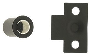 idh by St. Simons Solid Brass Mini Ball Catch; Oil-Rubbed Bronze