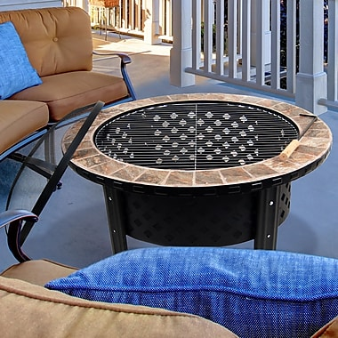 Astella Stainless steel Wood Burning Fire pit