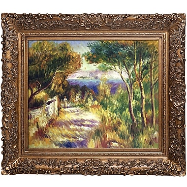 Tori Home L'Estaque by Pierre-Auguste Renoir Framed Painting