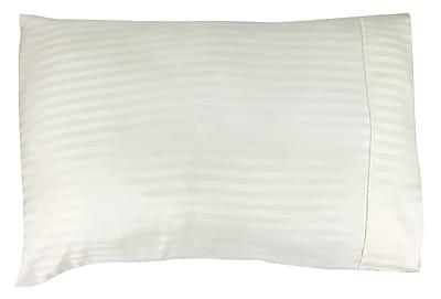 Peach Couture Home Super Soft Weaven Striped Pillowcase (Set of 2)