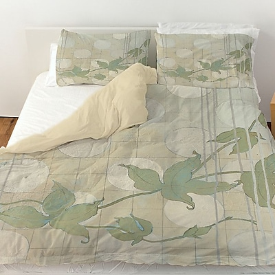 Manual Woodworkers & Weavers Summer Vine 2 Duvet Cover; Twin