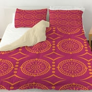 Manual Woodworkers & Weavers Banias Medallion Duvet Cover; Queen
