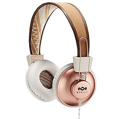 House of Marley – Casque d'écoute à port sur oreille Positive Vibration EM-JH011-CP, cuivre