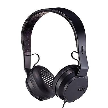 House of Marley - Casque d'écoute à port sur oreille Bluetooth Rebel EM-JH101-BK, noir