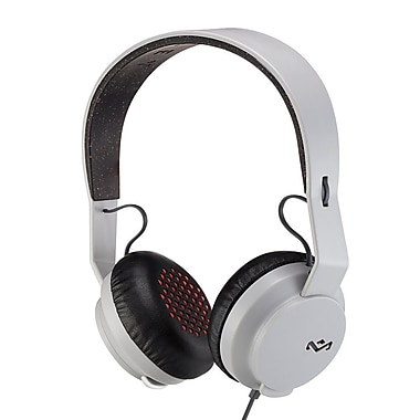 House of Marley – Casque d'écoute à port sur oreille Bluetooth Rebel EM-JH101-GY, gris