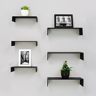 nexxt FN18837-4IC Extense Wall Shelves, 3-Piece 14
