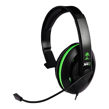 Turtle Beach Force XC1 On-Ear 2.5mm Wired Gaming Headphones