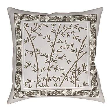Manual Woodworkers & Weavers Oriental Treasure Indoor/Outdoor Throw Pillow; 18'' H x 18'' W x 5'' D