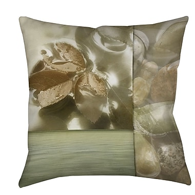 Manual Woodworkers & Weavers Natural Elements 1 Indoor/Outdoor Throw Pillow; 16'' H x 16'' W x 4'' D