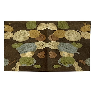 Manual Woodworkers & Weavers Rorschach Abstract Multi Area Rug; 2' x 3'