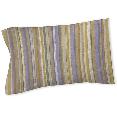 Manual Woodworkers & Weavers Plum Scene Sham; Twin