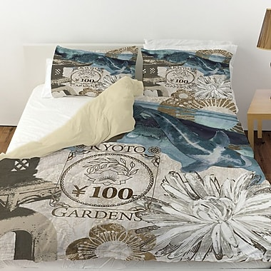 Manual Woodworkers & Weavers Meditation Gardens 2 Duvet Cover; Twin