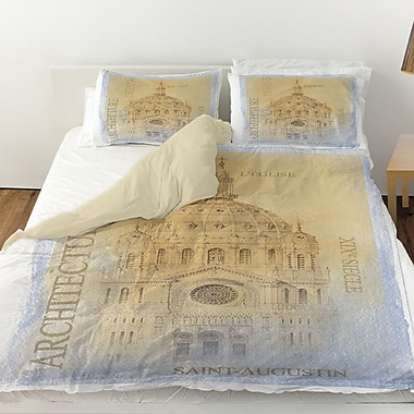 Manual Woodworkers & Weavers L'Eglise Duvet Cover; Twin