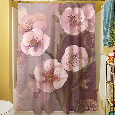 Manual Woodworkers & Weavers Gypsy Blossom II Shower Curtain
