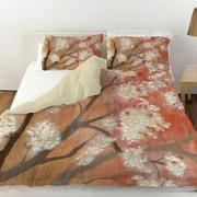Manual Woodworkers & Weavers Mandarin Mist 1 Duvet Cover; Queen