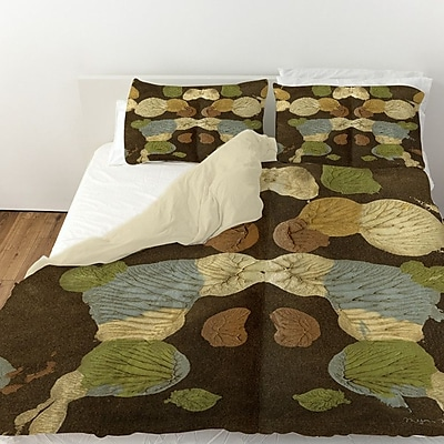 Manual Woodworkers & Weavers Rorschach Abstract Duvet Cover; King