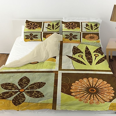 Manual Woodworkers & Weavers Graphic Garden Sydney Duvet Cover; Twin