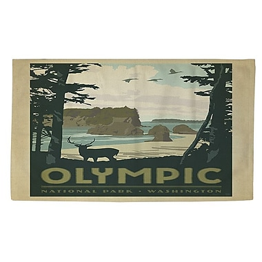 Manual Woodworkers & Weavers Olympic Multi Area Rug; 4' x 6'